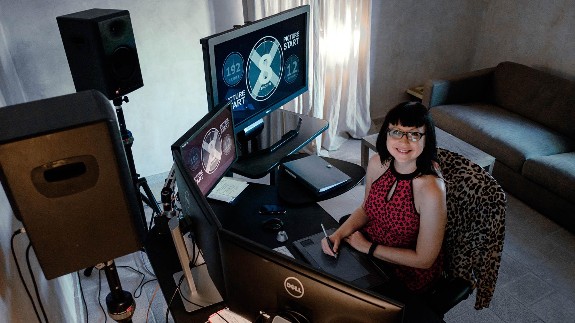 woman editor