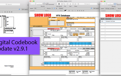 Digital Codebook Update v2.9.1